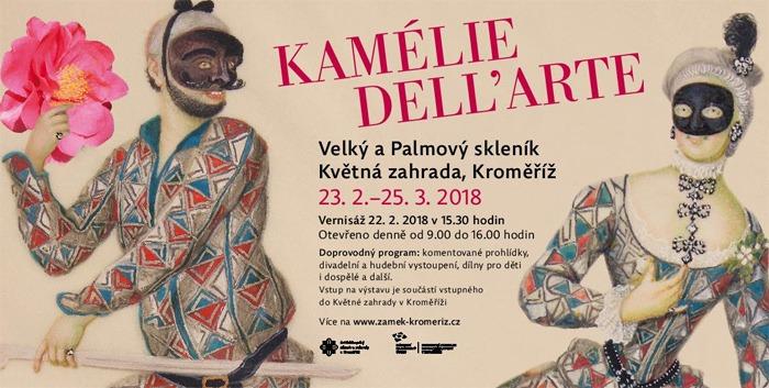 Kamélie dell´arte v Květné zahradě - Vernisáž výstavy / Kroměříž