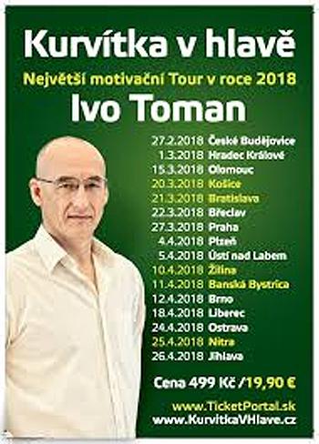 Kurvítka v hlavě Tour 2018 - Hradec Králové