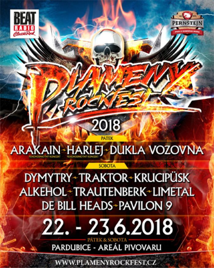 PLAMENY ROCKFEST 2018 - Pardubice