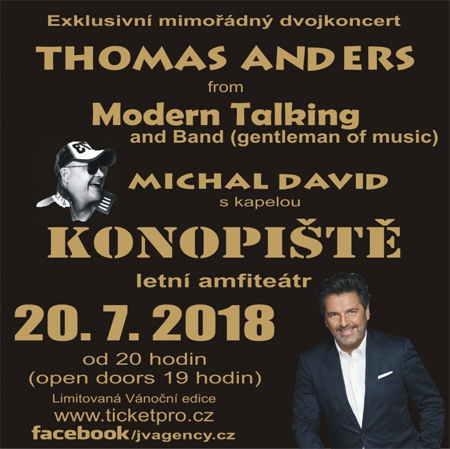 Michal David  a Thomas Anders - Dvojkoncert / Konopiště