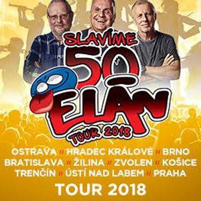 18.10.2018 - ELÁN 50 LET TOUR 2018 - Hradec Králové