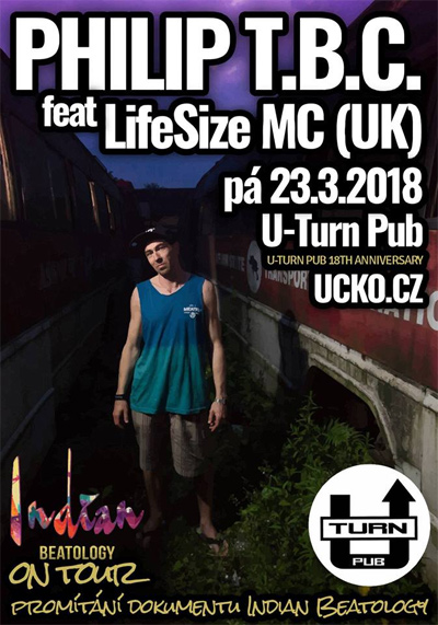 23.03.2018 - Philip TBC feat LifeSize MC (UK) - Mladá Boleslav