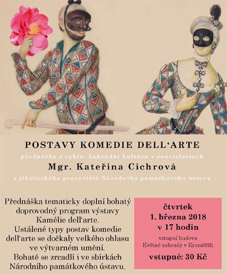 Postavy komedie dellarte - Přednáška / Kroměříž