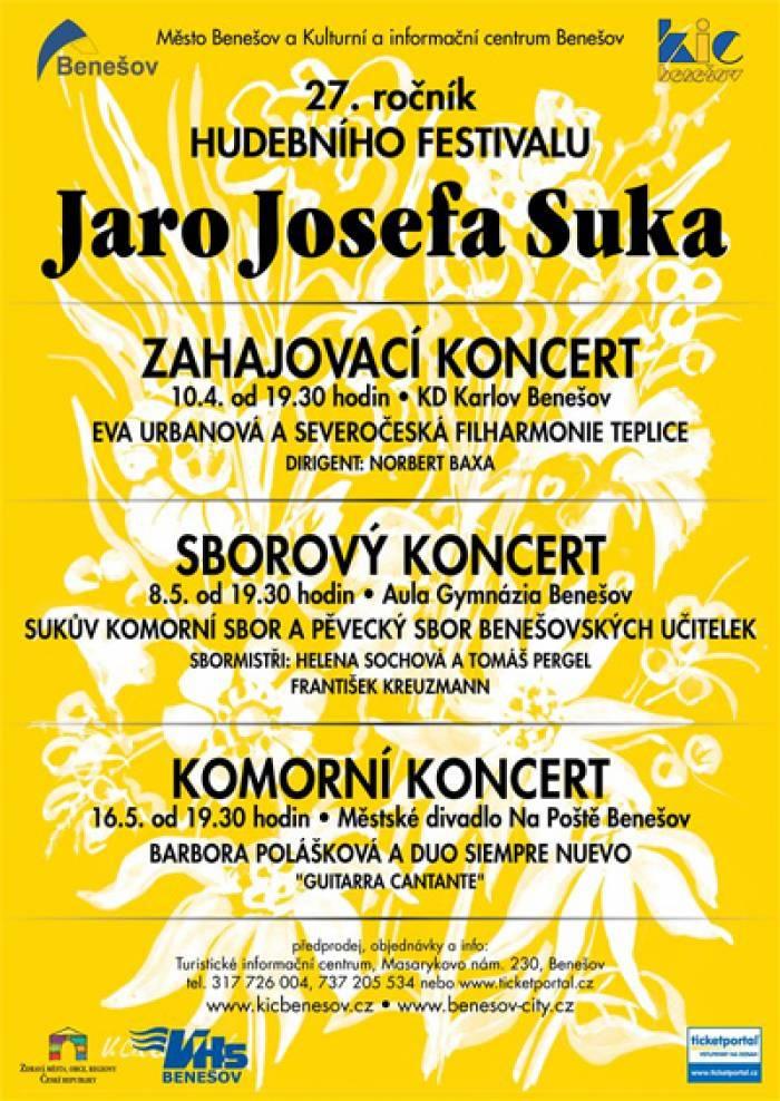 Jaro Josefa Suka - Komorní koncert / Benešov