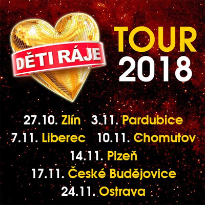 27.10.2018 - Děti ráje TOUR 2018 - Zlín