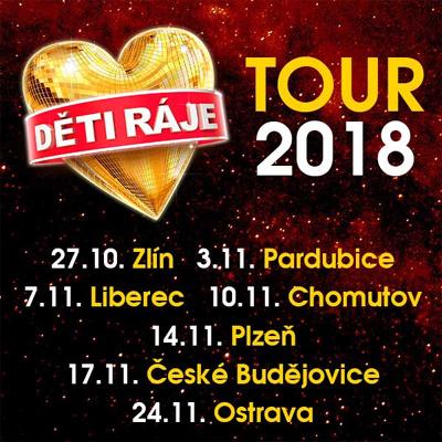 Děti ráje TOUR 2018 - Plzeň