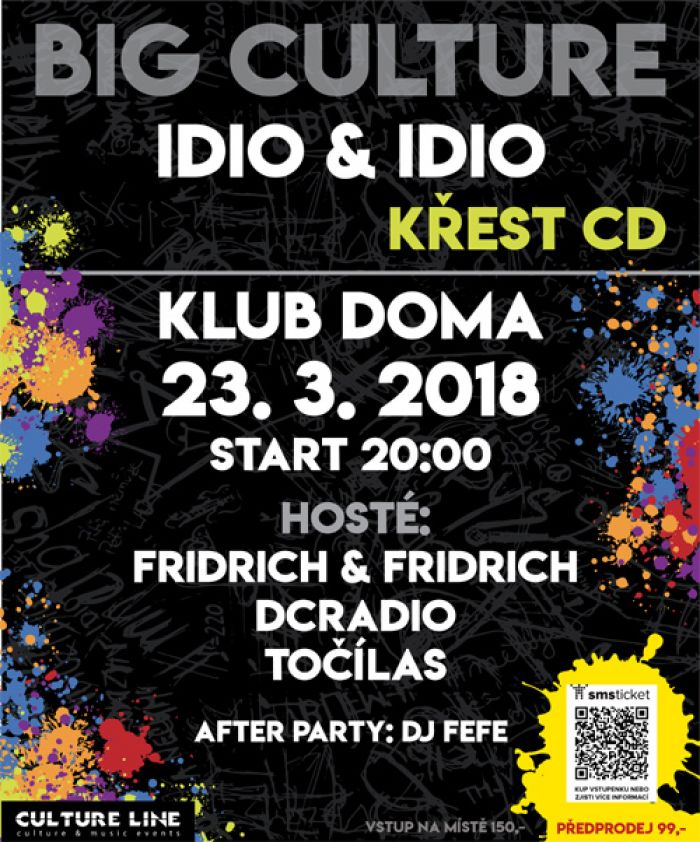 23.03.2018 - Big Culture křest CD Idio&Idio - Ústí nad Labem