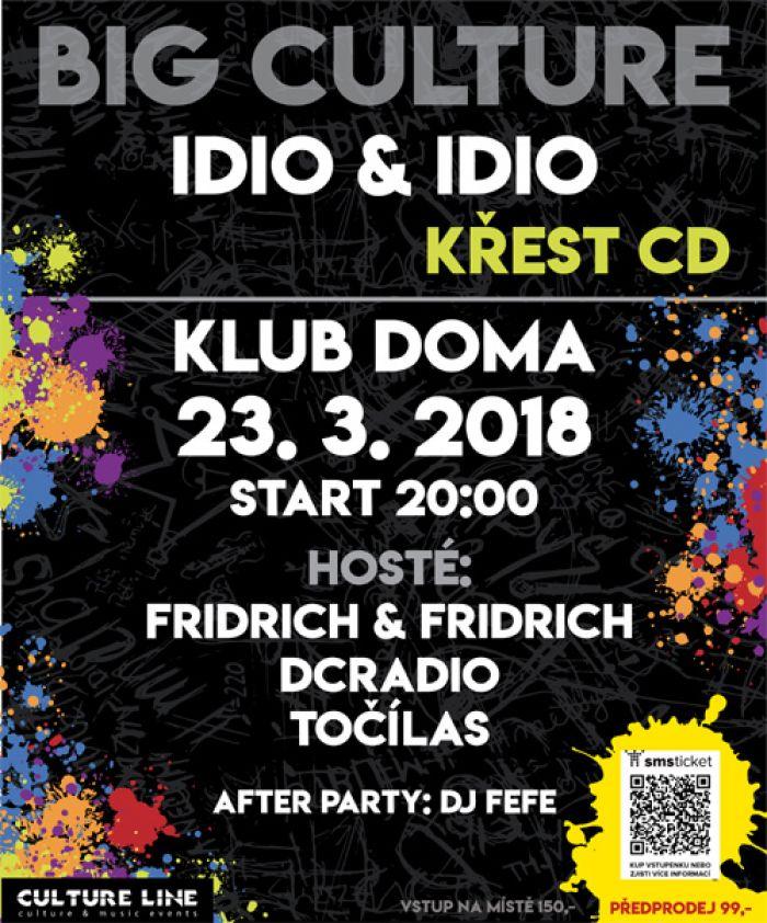 Big Culture křest CD Idio&Idio - Ústí nad Labem