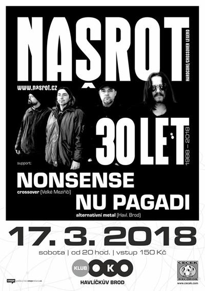 17.03.2018 - 30 let Našrot - Havlíčkův Brod