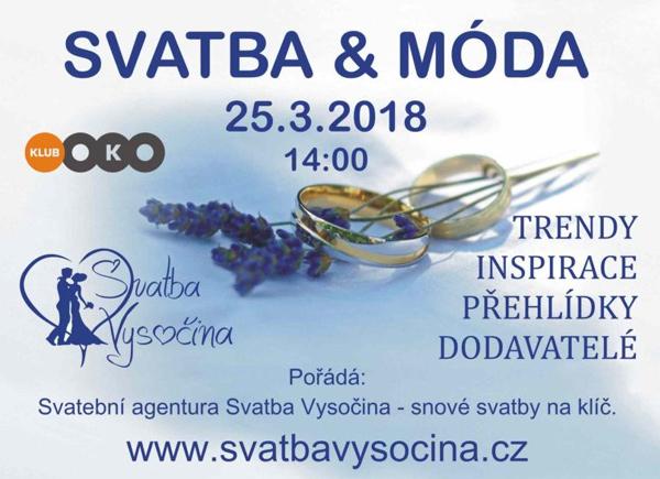 25.03.2018 - Svatba & móda - Havlíčkův Brod