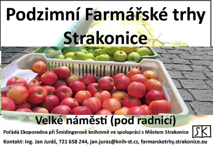 Podzimní farmářské trhy 2018 - Strakonice