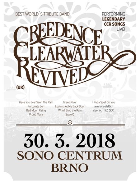 Creedence Clearwater Revived se vracejí do Brna