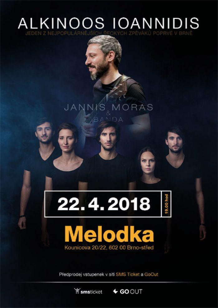 22.04.2018 - Alkinoos Ioannidis + support: Jannis Moras & Banda / Brno