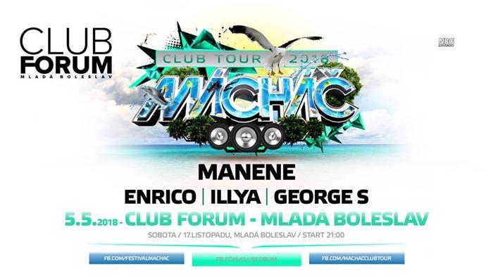 Mácháč Club Tour 2018 - Mladá Boleslav