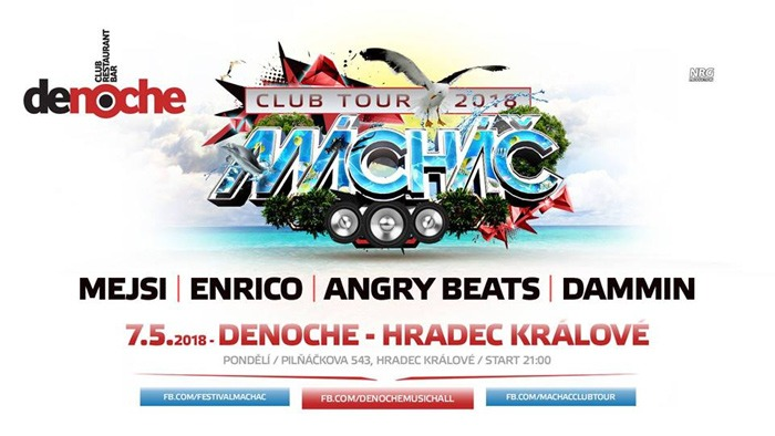 Mácháč Club Tour 2018 - Hradec Králové