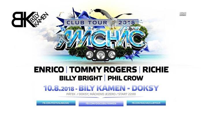 10.08.2018 - Mácháč Club Tour 2018 - Doksy