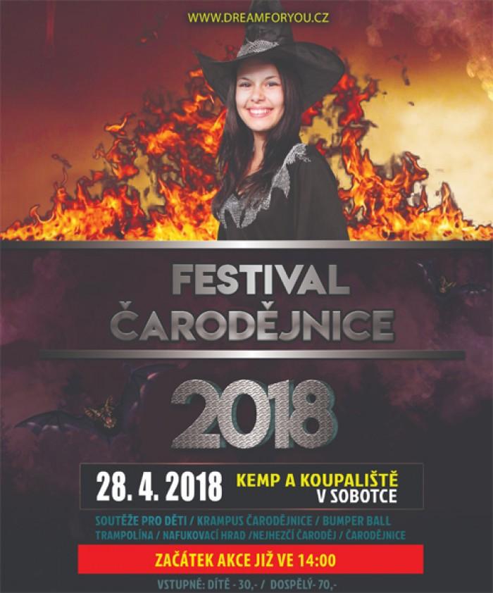 28.04.2018 - Festival ČARODĚJNICE 2018 - Sobotka