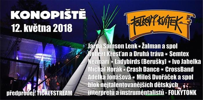 Folkový kvítek 2018 - Konopiště