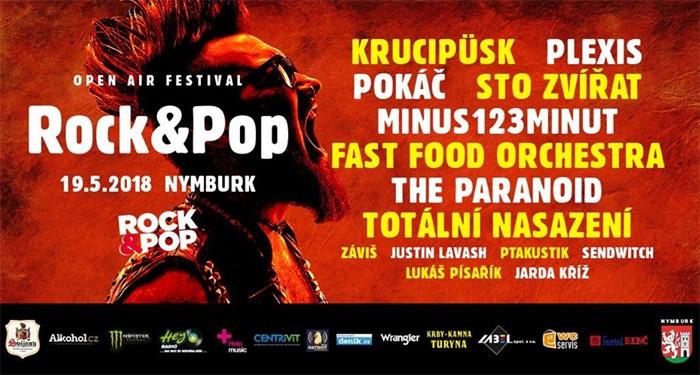 19.05.2018 - Rock&Pop Fest 2018 - Nymburk