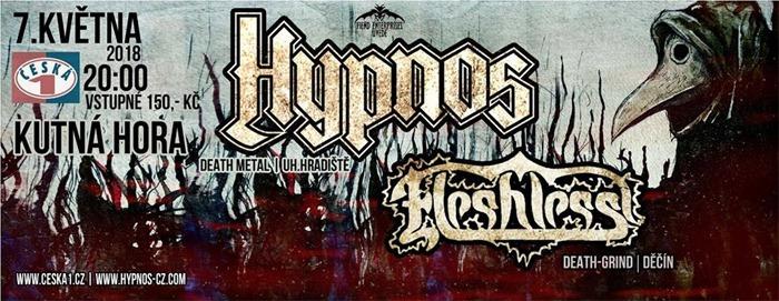 Hypnos + Fleshless - Kutná Hora