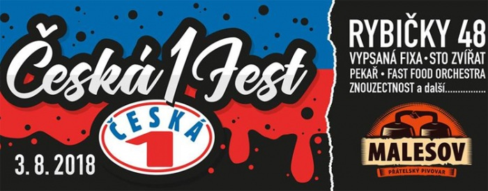 03.08.2018 - Česka(1)fest - Malešov