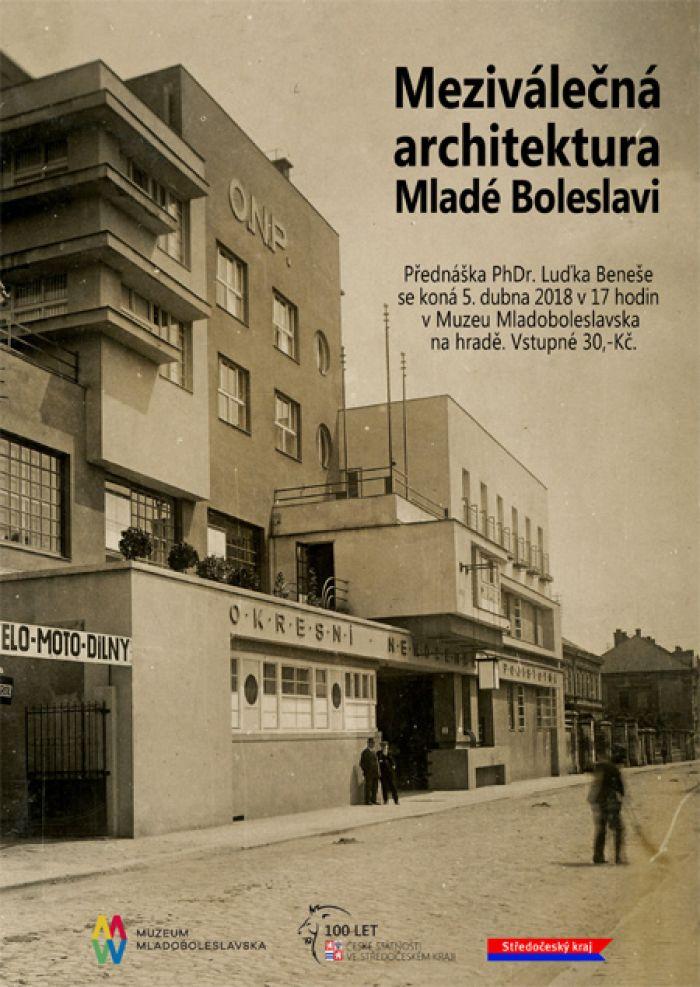 05.04.2018 - Meziválečná architektura Mladé Boleslavi