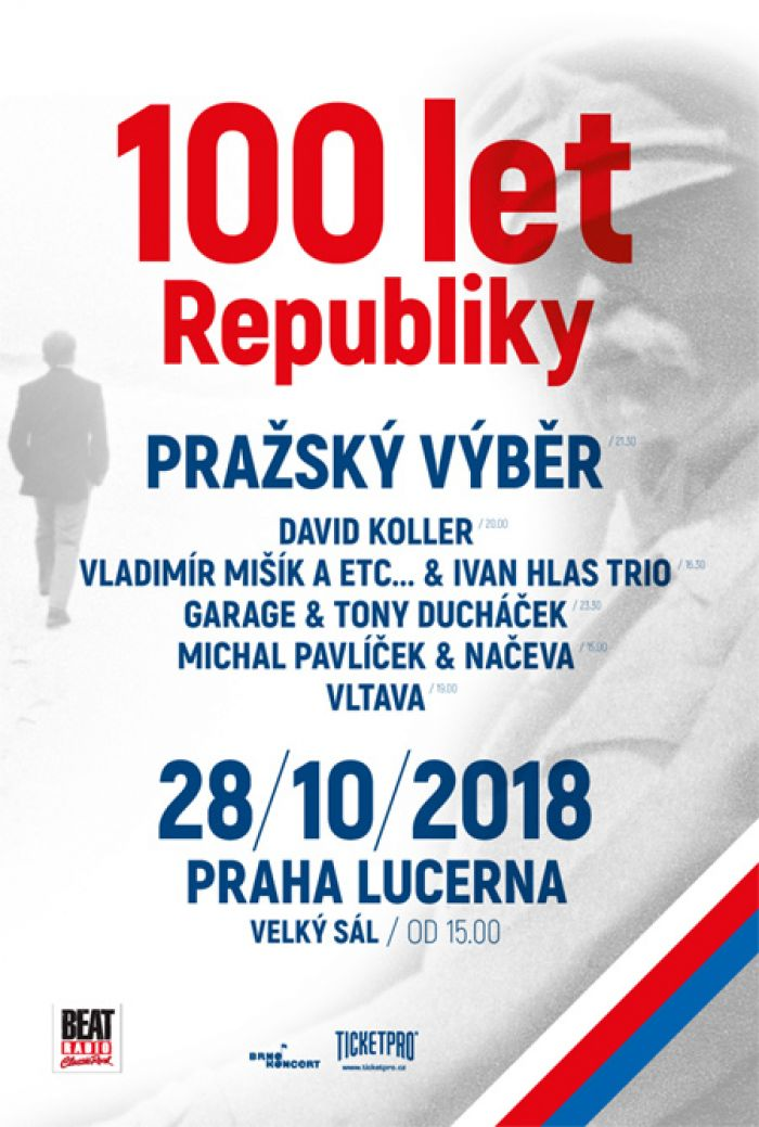 100 let Republiky v pražské Lucerně