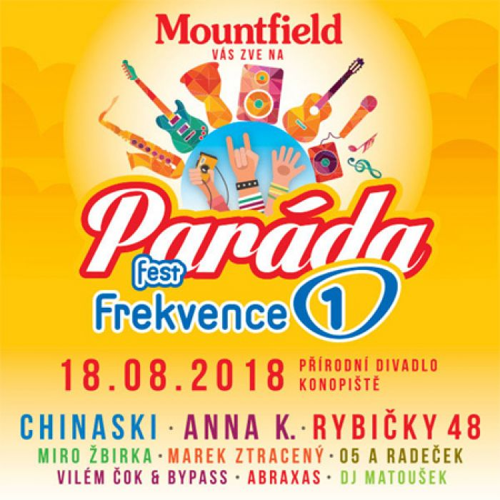 PARÁDA Fest Frekvence 1 - Konopiště