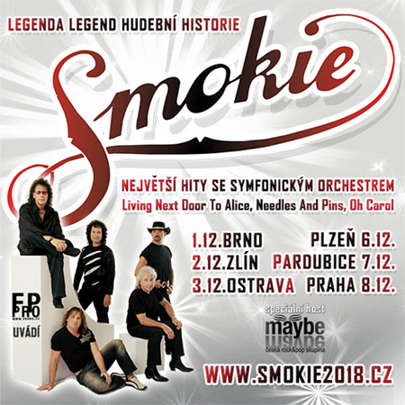 06.12.2018 - SMOKIE - The Symphony Tour 2018 - Plzeň