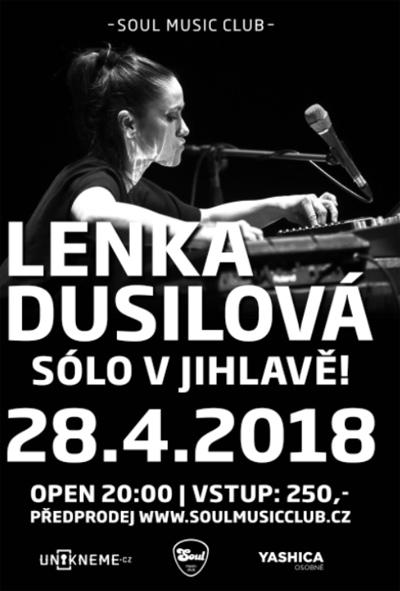 LENKA DUSILOVÁ - SÓLO / Jihlava