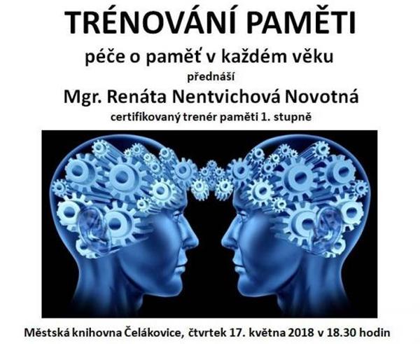 17.05.2018 - Trénování paměti - Přednáška / Čelákovice