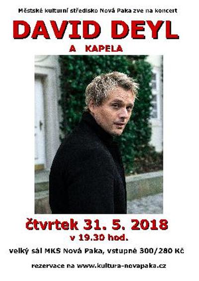 DAVID DEYL S KAPELOU - Nová Paka
