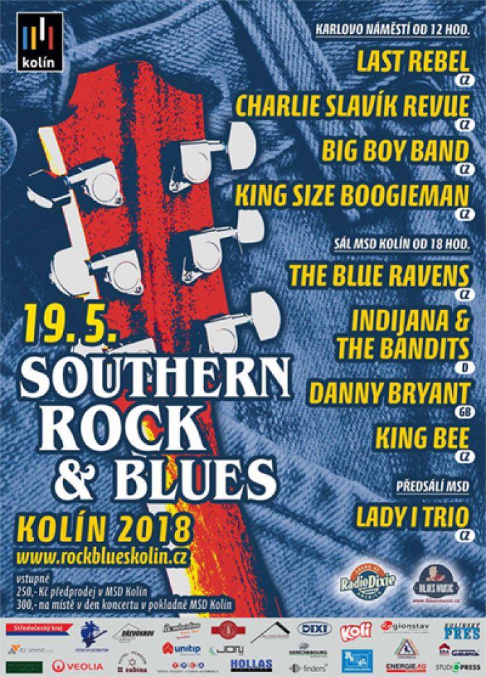 SOUTHERN ROCK & BLUES KOLÍN 2018