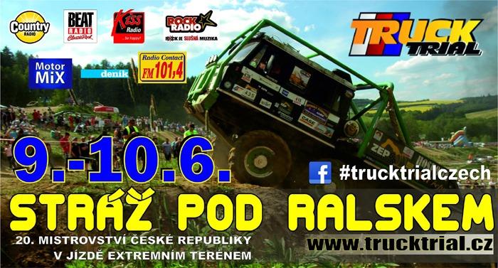 Mistrovství ČR v Truck trialu - Straž pod Ralskem