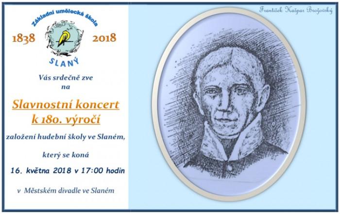 16.05.2018 - Slavnostní koncert k výročí hudební školy ve Slaném