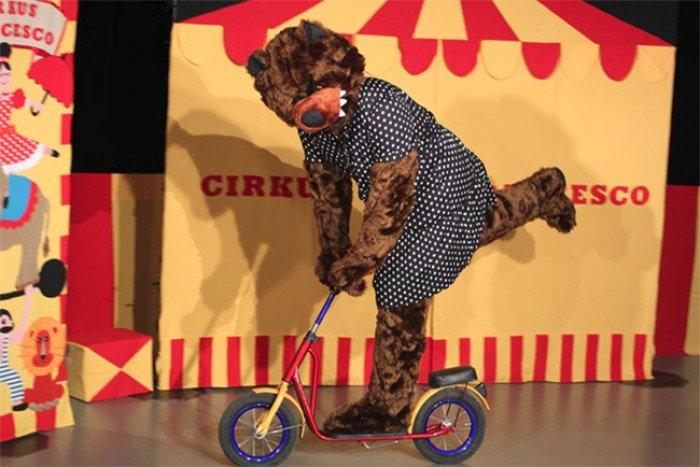 Výsledek obrázku pro cirkusácká pohádka
