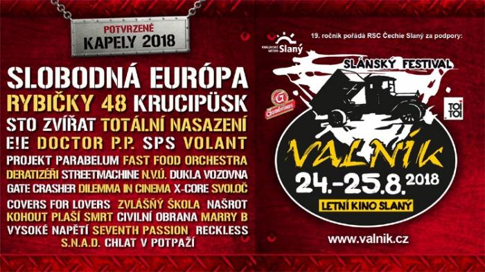 Slánský rockový open air festival Valník No.19