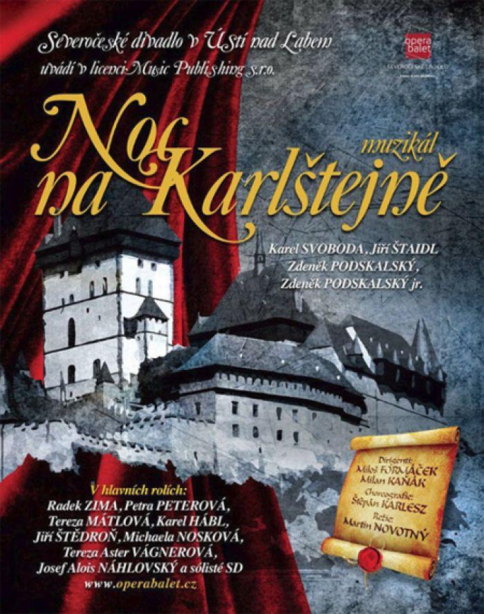 Noc na Karlštejně - Muzikál / Budyně nad Ohří
