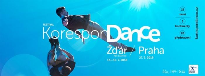 Festival KoresponDance 2018 - Žďár nad Sázavou