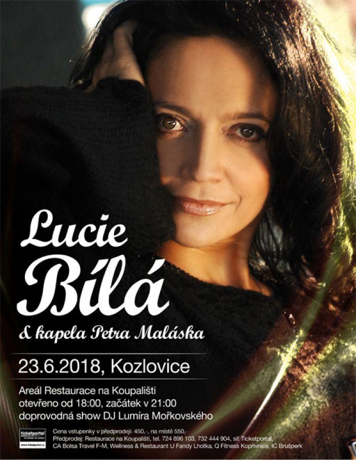 Koncert Lucie Bílé s kapelou Petra Maláska - Kozlovice