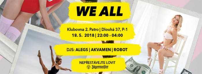 18.05.2018 - WE ALL 23 - Praha