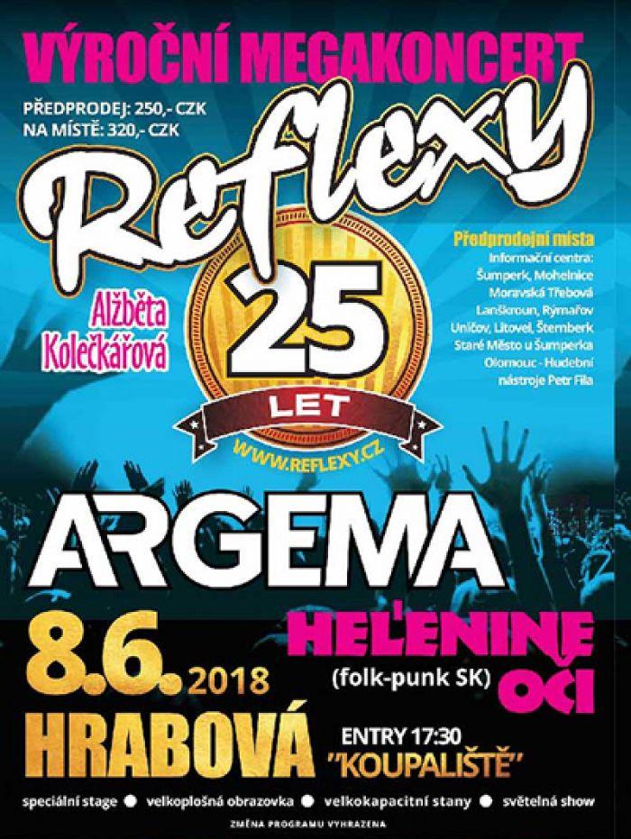 08.06.2018 - Reflexy 25 let - Megakoncert / Hrabová