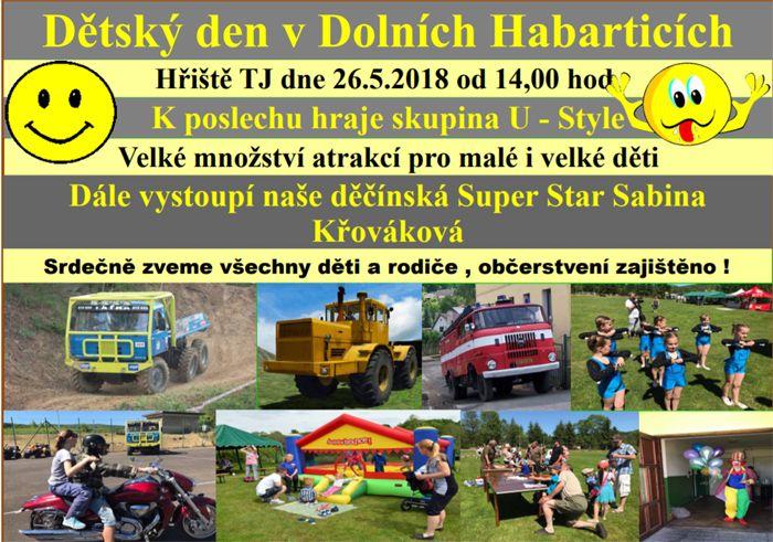 Dětský den v Dolních Habarticích