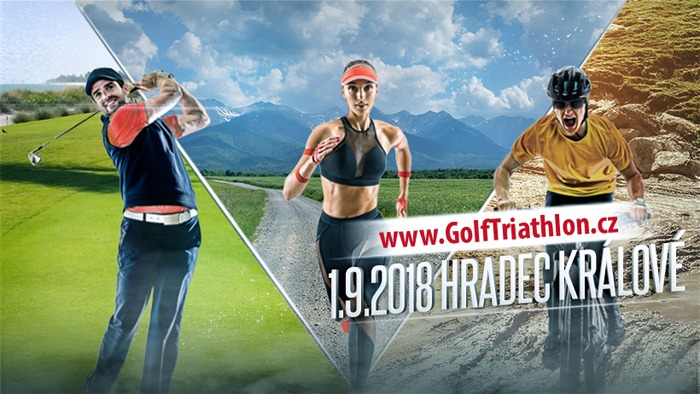 Golf Triathlon 2018 - Hradec Králové