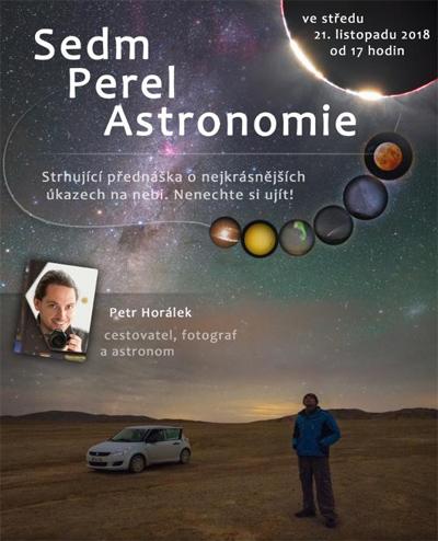 Sedm perel astronomie - Přednáška / Odolena Voda