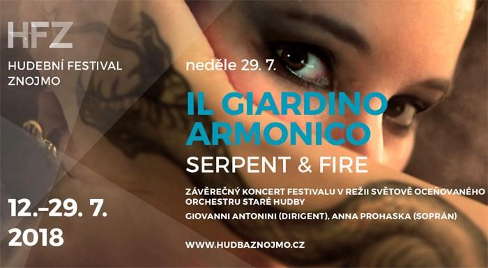 IL GIARDINO ARMONICO - Koncert / Znojmo