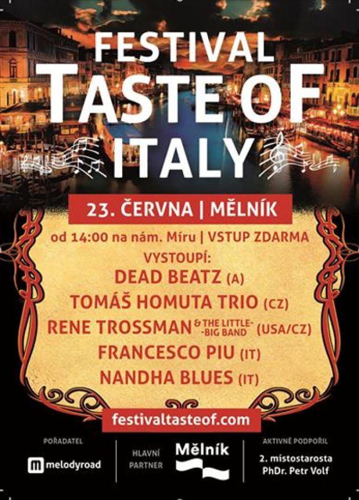 Festival TASTE OF ITALY - Mělník