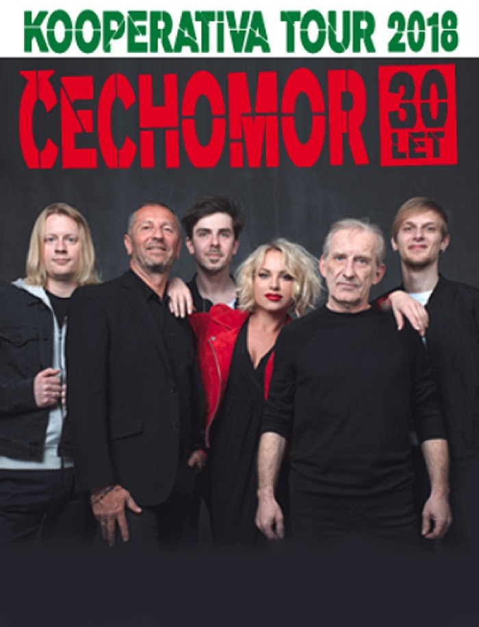 Čechomor - Kooperativa Tour 2018 / Liblice