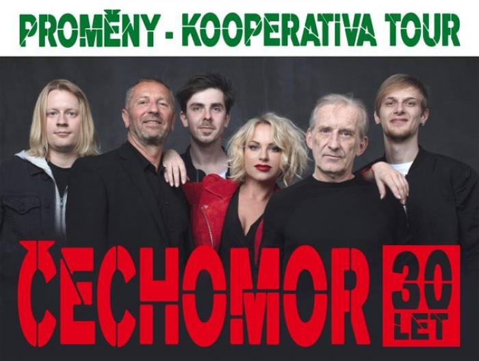 17.10.2018 - Čechomor:  Proměny - Kooperativa tour / Brno