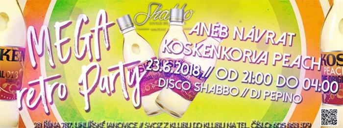 23.06.2018 - MEGA RETRO PÁRTY - Uhlířské Janovice